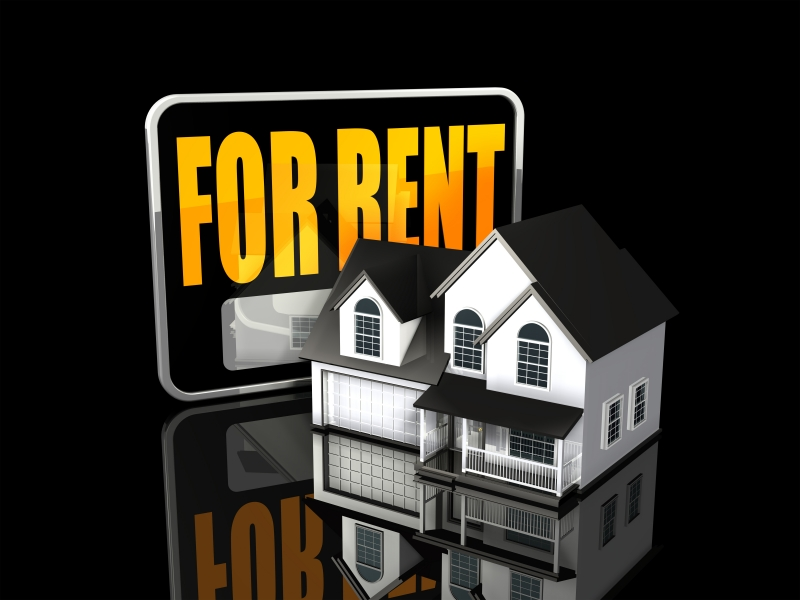 for-rent-sign-and-house